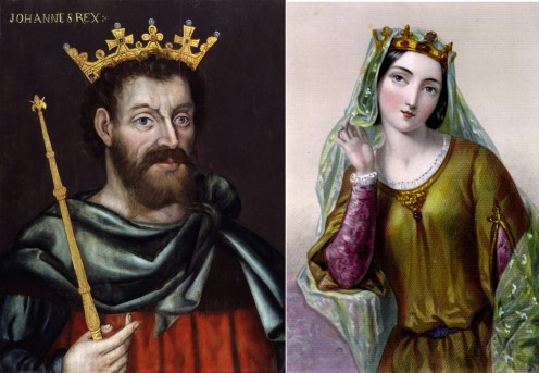 KING JOHN AND ISABELLA